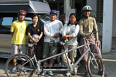 Biking in Chiang Mai Northern Thailand image