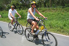 Full day bicycle tour north of Chiang Mai Thailand image