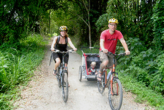 Full day bicycle tour south of Chiang Mai Thailand image