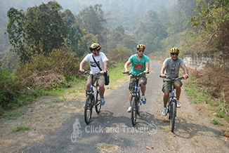 Half day bicycle tour east of Chiang Mai Thailand image