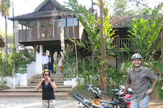 2-day bicycle tour north of Chiang Mai Thailand image