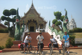 3-day unsupported bicycle tour north of Chiang Mai Thailand image