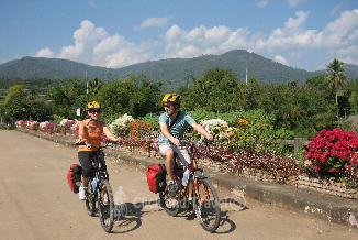 11-day unsupported bicycle tour around Chiang Mai Thailand image