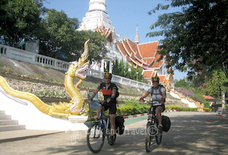 12-day unsupported bicycle tour around Chiang Mai Thailand image