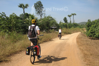 3-day bicycle tour east of Chiang Mai Thailand image